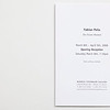 'Fabian Peña. The Frozen Moment', invitation to Opening Reception for Bernice Steinbaum Gallery