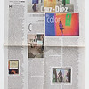 Miami Herald article with my pictures of Cruz Diez exhibition at Miami Art Museum