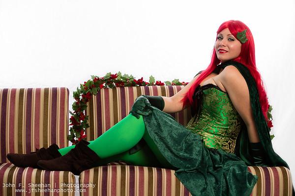 Ivy on Sofa 3