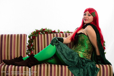 Ivy on Sofa 3