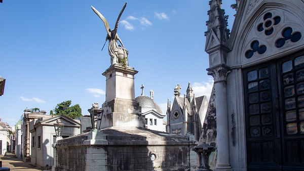 Tombs of the Recoleta Cemetery, Buenos Aires.