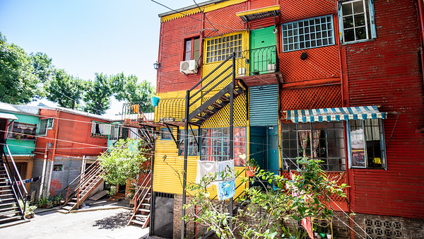 The brilliantly painted barrio of La Boca, Buenos Aires