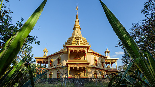 Wat Phon Phao is one of the more classical styled Wats in Luang Prabang, Laos