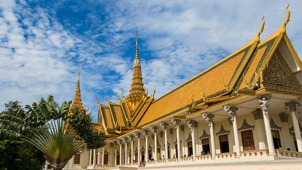 The Throne Hall of the Royal Palace, Phnom Pehn