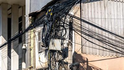 The Cambodian telephone system, Phnom Penh.