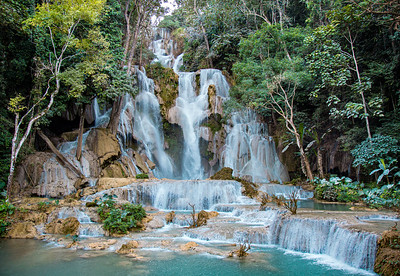 Photographs cannot begin to show the natural beauty of Kuang Si Waterfalls.  Many times Linda and I have visited purported wonders throughout the world only to be disappointed because they were over hyped tourist traps.  This was not one of them.