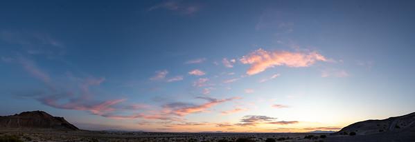 Sunset from Knolls, Utah