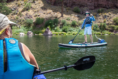 This stand up paddle boarder is Deaf Jeff.  An intrepid completely deaf individual who we met up with after a particularly harrowing set of rapids.  I got in a nice photo shoot of him and had to track him down through the local deaf community in Salt Lake City to get him photos from the session.