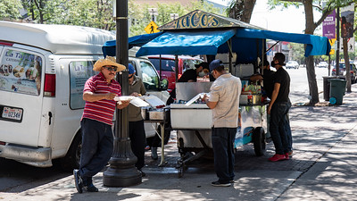 Some of the best street tacos to be found anywhere are in Ogden, Utah from street carts located in front of city hall.