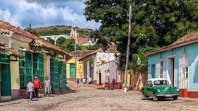 Trinidad is full of sleepy little back street neighborhoods with 17th century colonial houses.