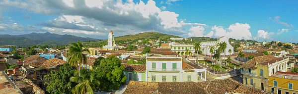 Roof top panorama of Trinidad, from the Museo de Historia Municipal.