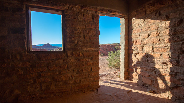 A shadow figure at Valley of Fire State Park.  A beautiful place to visit just a short drive from Las Vegas, Nevada.