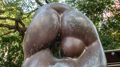 One of the many sculptures in Kowloon Park.  Sort of erotic in it's own disjointed way.