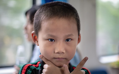 This charming boy and I kept each other entertained for most of the first day on the train from Guangzhou to Lhasa.