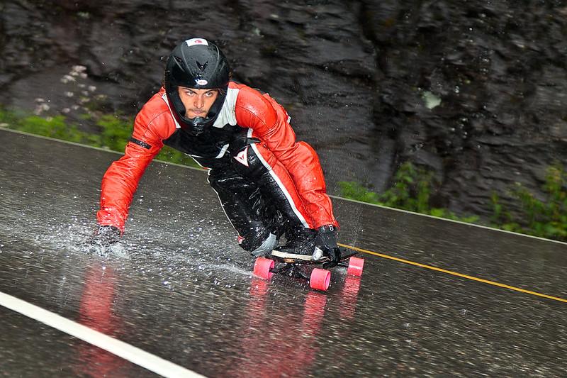 Longboard Freeride, Skjervet, Voss Extreme Sports Week  2011