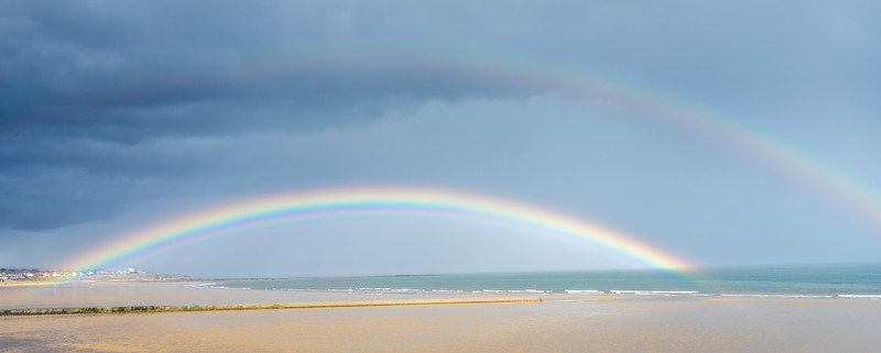 Rainbow over Seaburn