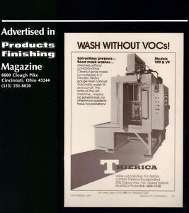 Products Finishing 1987