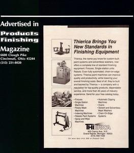 Products Finishing 1989