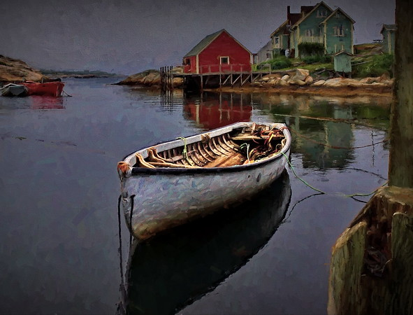 Artsy, Nova Scotia, Peggy's Cove