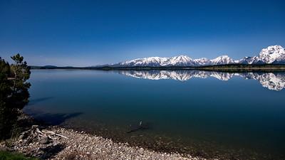Grand Teton-Yellowstone Natl Park, Jackson Lake, Potential, Wyoming
