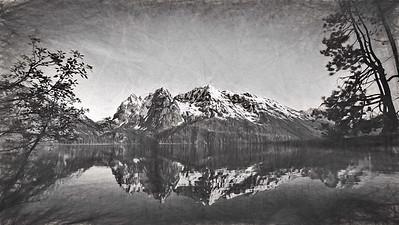 Grand Teton, Grand Teton-Yellowstone Natl Park, Jenny Lake, Wyoming