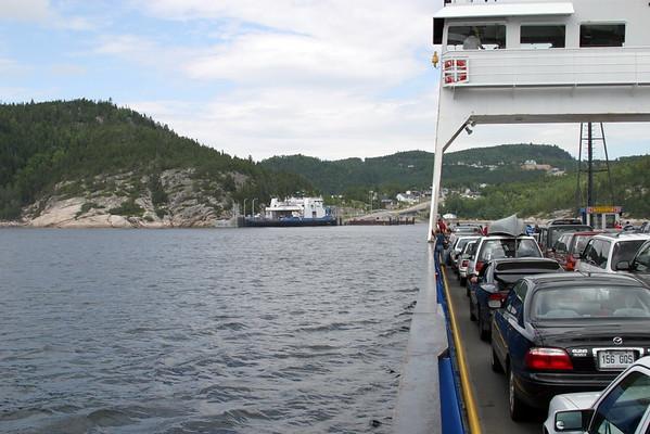 Quebec, Tadoussac Ferry