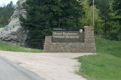 Mt Rushmore National Memorial, South Dakota