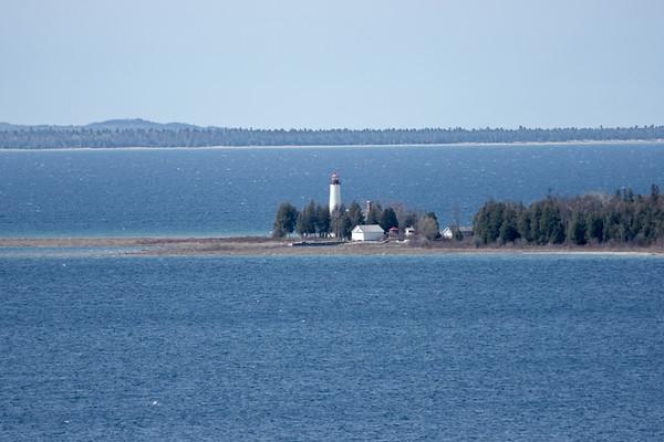 Michigan, St Helena Island, St Helena Light