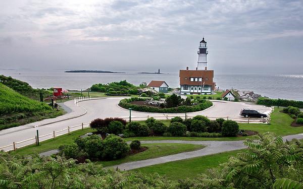 Cape Elizabeth, Fort Williams Park, Maine, Portland Head Light