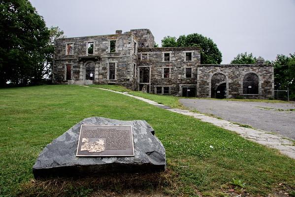 Cape Elizabeth, Fort Williams Park, Goddard Mansion, Maine