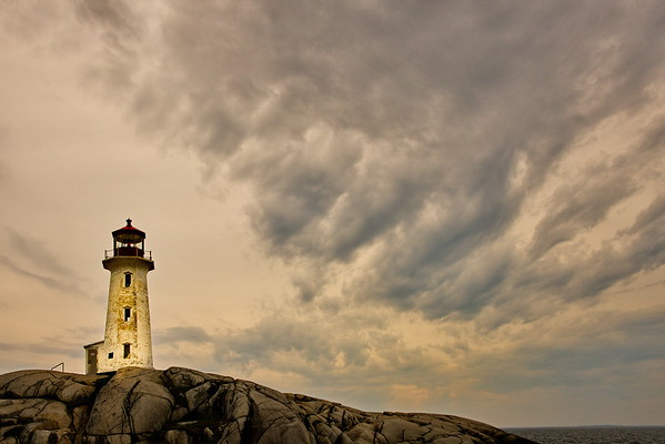 Nova Scotia, Peggy's Cove, Peggy's Cove Light