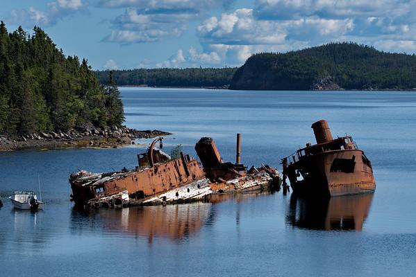 Embree, HMS Calypso-Briton, Newfoundland