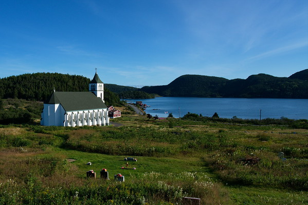 Church of St. Anne, Fortune Harbour, Newfoundland