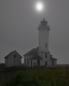 Fort Worden, Point Wilson Light, Port Townsend, Washington