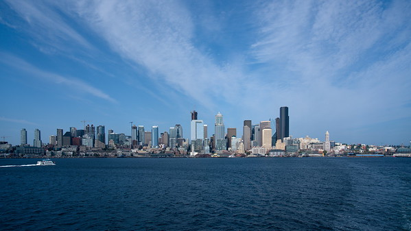 Ferry- Seattle to Bainbridge Island, Seattle, Washington