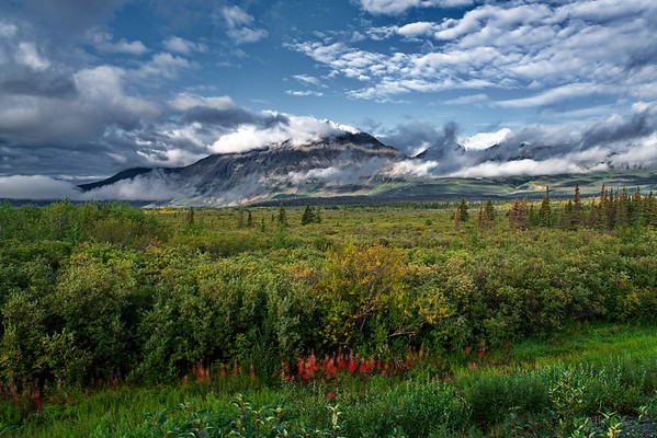 Alaska Highway 1, Kluane National Park and Reserve, Yukon