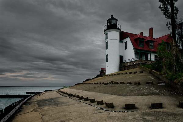 Benzie County, Michigan, Point Betsie Lighthouse