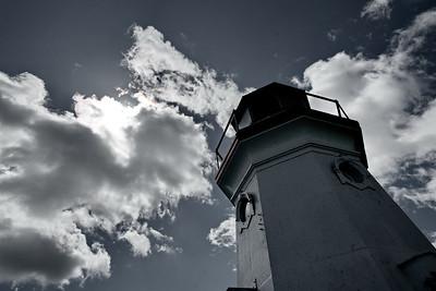 Cheboygan, Cheboygan Crib Lighthouse, Michigan