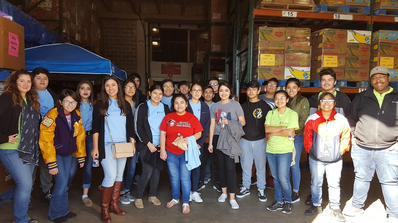 Coastal Bend Food Bank Group Picture