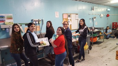 Coastal Bend Food Bank Volunteer Event 7