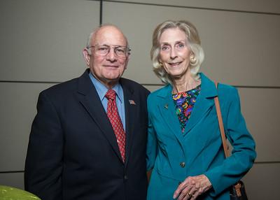 Paul A. Busch (left), Sarah Busch