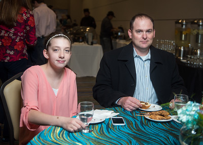 Kaylani Phillips (left), Alan Williams
