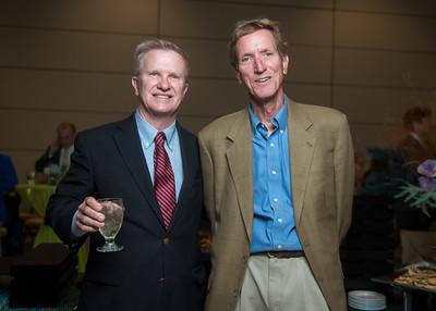Matt Layton (left), Will Harte