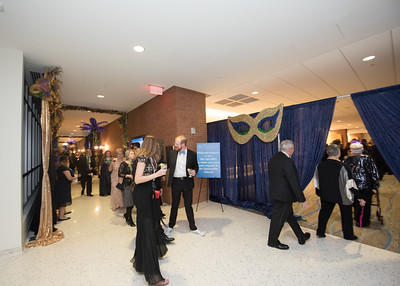 Guests walk through the University Center during President's Ball on March 3rd, 2018 at Texas A&M University - Corpus Christi.