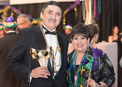 Herbert Rubio (left) Lucy Rubio pose for a photo during President's Ball on March 3rd, 2018 at Texas A&M University - Corpus Christi.