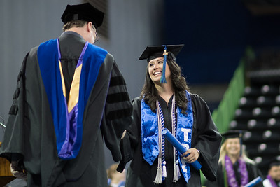 Ashley Vega. Over 1,100 graduates received their degrees during two commencement ceremonies held on May 13.