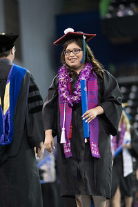 Olivia Santos. Over 1,100 graduates received their degrees during two commencement ceremonies held on May 13.