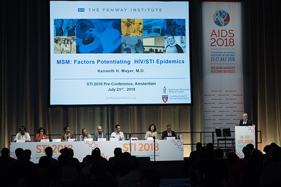 22nd International AIDS Conference (AIDS 2018) Amsterdam, Netherlands   Copyright: Marcus Rose/IAS  Photo shows: STI 2018. Key and Marginalised Populations.