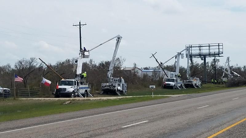 Electric Crews Rockport Texas