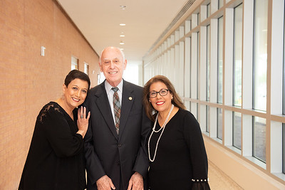 Alicia N. Jasso (left),  Robert Furgason, and Irene Chamberlain.